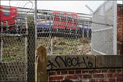 Noch (Alex Ellison) Tags: urban graffiti boobs tag railway graff irp notch trackside noch northlondon htb