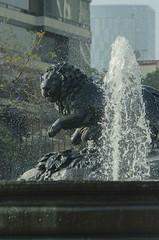 Weeping Lion (migubugs) Tags: statue agua lion fuente estatua len fontain cibeles cdmx