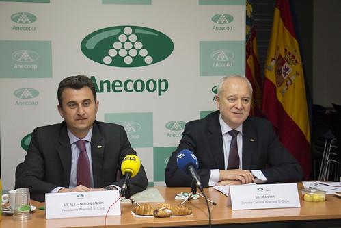 RdP Resultados campaña 2014-15 Anecoop. Valencia (16-03-2016)