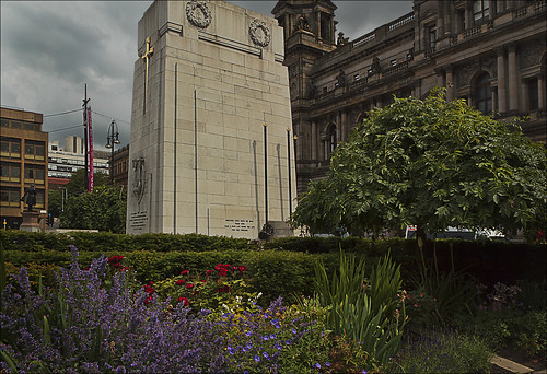 Cenotaph, George Square, Glasgow