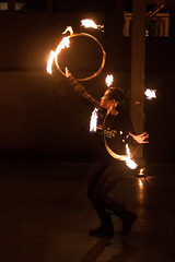 Spinurn 03/23 (Chris Blakeley) Tags: seattle fire flame firespinning gasworkspark spinners spinurn