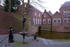 s'hertogenbosch (valeriadalua) Tags: netherlands architecture canal jeroen artist painter bosch shertogenbosch jheronimusbosch 500thanniversary