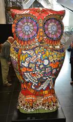 Birmingham, The Big Hoot Owls, Starlight (Martin Pettitt) Tags: city uk trip autumn birmingham october dslr sculptures westmidlands owls dayout starlight sigma1020mmf456exdchsm nikond7100 thebighoot