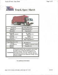 Crane Carrier LET2 (Scott (tm242)) Tags: trash truck garbage side management waste recycle loader recycling