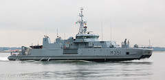 Otra M351 Minesweeper (Niall McCormick) Tags: dublin port 1 mine ship counter group navy royal class norwegian alta otra nato minesweeper measures minehunter m351