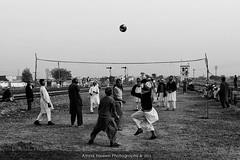Clerics at Play (Amna Yaseen) Tags: school playing students ball sharif religious madrasa 2015 wali golra