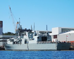 HMCS FREDERICTON (Roger Litwiller -Author/Artist) Tags: halifax hmcs frederictonhalifax rogerlitwillercollectionrcn