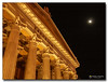 20080318_1933 (gabrielpsarras) Tags: moon building monument architecture night outdoors downtown athens greece historical column zappeion αθήνα ζάππειο