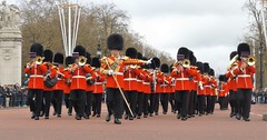band of the welsh guards /16/04/2016/ (philipbisset275) Tags: unitedkingdom themall victoriamemorial centrallondon cityofwestminster englandgreatbritain bandofthewelshguards 16042016