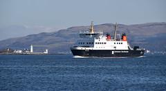 MV Bute off Toward Lighthouse (Russardo) Tags: lighthouse ferry scotland clyde mac off cal isle calmac mv caledonian toward bute rothesay macbrayne