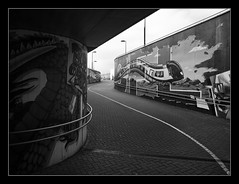 Tunnel (Mario Feierstein) Tags: graffiti tunnel passage mersch