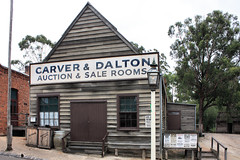 Sovereign Hill Auction and Salerooms (Malleeroute) Tags: wood house building gold hall wooden rooms sale auction room hill colonial victoria dalton carver ballarat sovereign auctioneer sovereignhill