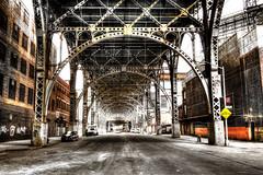 harlem viaduct color (Chip Renner) Tags: newyork bridges hdr photomatix