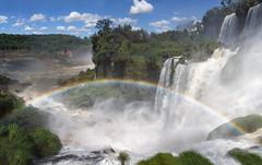 Iguassu Falls Rainbow (alicecahill) Tags: southamerica argentina landscape waterfall rainbow waterfalls iguassufalls alicecahill