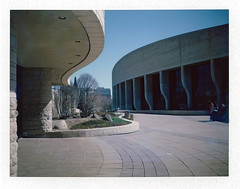 Museum of History, Gatineau (Howard Sandler (film photos)) Tags: museum polaroid ottawa gatineau instant fujiroid roidweek