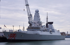 Royal Navy D35 HMS Dragon (you_blue) Tags: dragon britain united navy royal kingdom 45 destroyer type portsmouth british warship hms d35