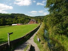 Leaving the Canal (Worthing Wanderer) Tags: summer river canal nationalpark derwent derbyshire peakdistrict sunny september valley cromford derwentvalleyheritageway
