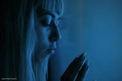 (cassyanos) Tags: blue colors azul project cores tristeza mar tv paz cu terror das cor tranquilidade teoria raissa