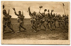 The Worcesters - World War One postcard (The Wright Archive) Tags: world pictures real army one war europe mail action postcard wwi archive going battle photographic daily soldiers british wright 1915 worcester wartime erster regiment weltkrieg worcesters