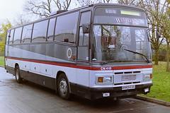 WESTERN SCOTTISH CN418 B985EGG (bobbyblack51) Tags: scottish western depot 1994 dennis dorchester paramount 3500 plaxton cumnock cn418 b985egg