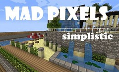 Mad Pixels Cartoony Resource Pack 1.9.2/1.9/1.8.9 (KimNanNan) Tags: game video 3d games online minecraft