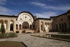 Historic house in Kashan - Khaneh Tabatabaei (Gaby Jcome) Tags: iran kashan
