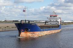 'Arkonia' Runcorn docks 26th April 2016 (John Eyres) Tags: docks point for passing heading limerick weston outward runcorn manchestershipcanal arkonia 260416