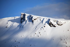 Gloppen topp -|- Mountain top (erlingsi) Tags: schnee sky snow norway ridge fjell sn nordfjord gloppen snowridge