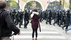 Manifestation / Gare de Lyon (frenzy) Tags: paris nations manifestations 28mars nuitdebout
