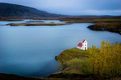 lfljtsvatn Church (Mark Heeney UK) Tags: red iceland sonya77 markheeneyuk sal1650