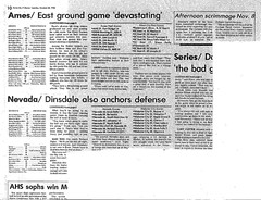 1986 AHS Football scanned newspaper article p026 clipping dated October 28 1986 (ameshighschool) Tags: school sports newspaper football classmate classmates iowa scan highschool 1986 clipping highschoolreunion classreunion schoolmates schoolmate ahs athelete amesiowa ameshighschool ahsaa ahs1987 ameshighschoolalumniassociation ahs1986 ameshighclassof1986 ameshighclassof1987 1986ahs ahs1988 ameshighclassof1988 1987ahs 1988ahs