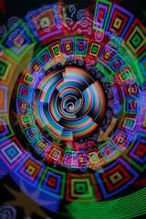 Frankenstick test (- Hob -) Tags: longexposure lightpainting spiral colorful experimental multicoloured testing led colourful hack nophotoshop multicolored blasphemy multicolor nopostprocessing multicolour 8844 addressable singleexposure sooc bitbanger pixelstick