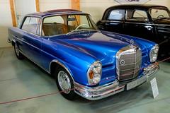 Mercedes-Benz 250SE Coupe W111 (1967) (The Adventurous Eye) Tags: auto classic cars museum mercedesbenz moto oldtimer coupe muzeum w111 kopřivnice 250se