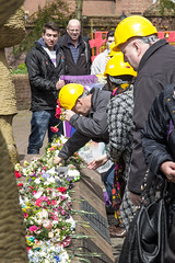 IMG_3183 (ang-st) Tags: street people lune march workers memorial day pcs market outdoor flag lancashire safety health unite preston gmb nut cwu hs unison 2016 ucatt