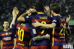 Betis - Barcelona 107 (VAVEL Espaa (www.vavel.com)) Tags: fotos bara rbb fcb betis 2016 messi fotogaleria vavel futbolclubbarcelona primeradivision realbetisbalompie ligabbva luissuarez sergiroberto betisvavel barcelonavavel fotosvavel juanignaciolechuga