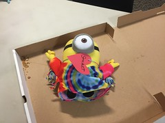 I am stuffed! (scotchplainspubliclibrary) Tags: animal stuffed sleepover scotchplains scotchplainspubliclibrary