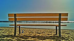 Bench...al mare (Barbara Bonanno BNNRRB) Tags: sea bench mare banco banc panchina