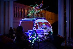 Yogyakarta Neon (Kevin Dharmawan) Tags: indonesia java neon yogyakarta yogya rickshaw becak keraton eastjava djogja alunalun