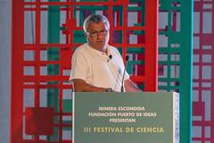 Josian Fabrega, ingeniero francés. III Festival de Ciencia de Antofagasta 2016