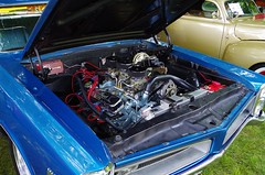 And A Blue GTO (ilgunmkr - Thanks for 5,000,000+ Views) Tags: hardtop 1966 pontiac gto carshow 2015 1966pontiacgto threedeuces hennepinillinois threetwobarrels