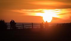 Love and Photography What Sunsets are For.jpg (Eye of G Photography) Tags: sunset usa silhouette ship couples places whidbeyisland northamerica pugetsound washingtonstate sunsetsunrise fortcasey gunimplacements