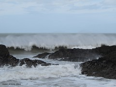 Spring tide at Bude (WellyWilk) Tags: storm high cornwall waves offshore dramatic winds breakwater bude