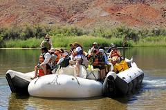 Off they Go! (oxfordblues84) Tags: trip arizona people reflection water kids reflections river teens tourists nativeamerican rafting coloradoriver raft riverbank nativeamericans leesferry riverraft whitewaterraftingtrip coconinocounty roadscholar roadscholartour roadscholartrip grandcanyonnationalparkexploringthenorthandsouthrims roadscholarorg coloradoriverwhitewaterrafting coloradoriverwhitewaterraftingtrip