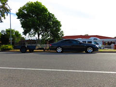 2007/2008 Ford BF MkII Fairmont Ghia (RS 1990) Tags: ford car sedan april adelaide trailer friday southaustralia 15th bf fairmont ghia mkii 2016 kessner