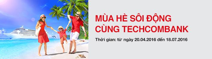 Mùa hè sôi động cùng Techcombank