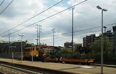 Carro Manutenzione RFI (simone.dibiase) Tags: 3 train diesel trains carro tre lavori treno italiana rete deposito treni binario ferroviaria omini manutenzione rfi collegno