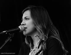 Country Music at its finest (cdw21) Tags: people blackandwhite musician canon concert texas waco candid singer