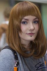 Cyber Bites (gxle) Tags: portrait canon eos rebel helsinki kiss cosplay piercing smiley bites cyber t3i x5 2016 600d rebelt3i kissx5 yukicon 2k16 yukicon2016