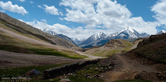 Off the street towards mountains (walvekar) Tags: road trip sky snow mountains clouds path tabo manali himachal spiti nako milind kalpa simala lahaul 500px chandrataal raksham ifttt