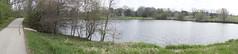 041.PondPanorama-trail (aetherspoon) Tags: park panorama greentree